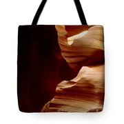 The Heart Of Antelope Canyon Tote Bag