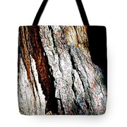 The Heart Of Barkness In Mariposa Grove In Yosemite National Park-california  Tote Bag