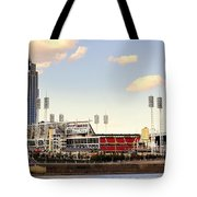 The Heart Of Cincinnati  Tote Bag