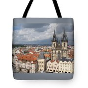 The Heart Of Old Town Tote Bag