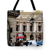The Heart Of Paris Tote Bag