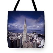 The Heart Of San Francisco Tote Bag by Mountain Dreams