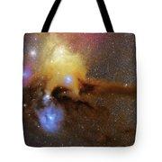 The Heart Of Scorpius Antares Region Tote Bag