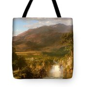 The Heart Of The Andes Tote Bag