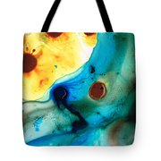 The Heart's Desire - Colorful Abstract By Sharon Cummings Tote Bag by Sharon Cummings