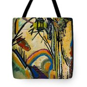 The Hermit Tarot Card Tote Bag