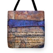 The High Calling Of God In Christ Jesus Tote Bag