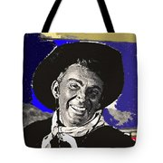 The High Chaparral Cameron Mitchell Publicity Photo Number 1 Tote Bag