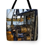 The Highways And Byways Of Shrimping Tote Bag