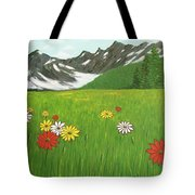 The Hills Are Alive With The Sound Of Music Tote Bag