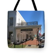 The Historic Excelsior Hotel Jefferson Texas Tote Bag