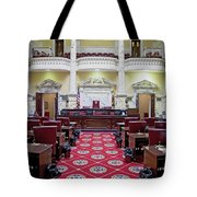 The Historic House Chamber Of Maryland Tote Bag