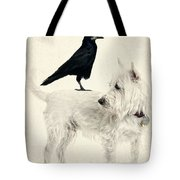 The Hitchhiker Tote Bag by Edward Fielding