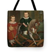 The Hobby Horse Tote Bag