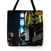 The Holidays In Time Square Tote Bag