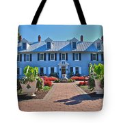 The Homestead Birthplace Of Milton Hershey Tote Bag