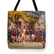 The Hopping Match On Clapham Common Tote Bag
