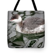 The Horned Grebe Tote Bag