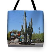 The Horny Toad Tote Bag