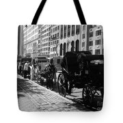 The Horse And Buggy Lineup Tote Bag
