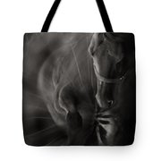 The Horse And Dandelion Tote Bag