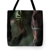 The Horse And The Dandelion Tote Bag