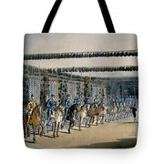 The Horse Armour Tower, Print Made Tote Bag