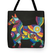 The Horse Of Good Fortune Tote Bag