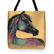 The Horse Portrait 1 Tote Bag