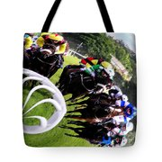 The Horse Race Tote Bag