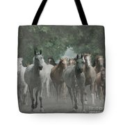 The Horsechestnut Tree Avenue Tote Bag
