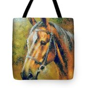 The Horse's Head Tote Bag