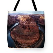 The Horseshoe River At Ultra High Resolution Tote Bag