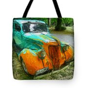The Hotrod  Tote Bag