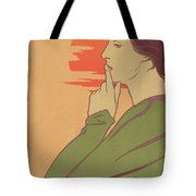 The Hour Of Silence Tote Bag by Henri Georges Jean Isidore Meunier