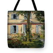 The House At Rueil Tote Bag
