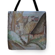 The House Of The Hanged Man After Cezanne Tote Bag