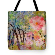The House Of The Rising Flowers Tote Bag