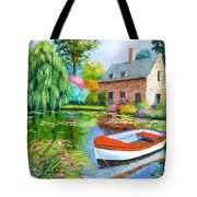 The House Pond Tote Bag