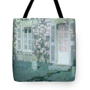 The House With Roses Tote Bag