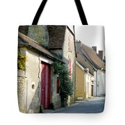 The House With The Red Doors Tote Bag
