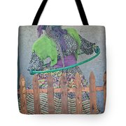 The Hula Hoop Witch Tote Bag