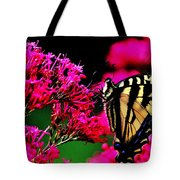 The Hungry Butterfly Tote Bag