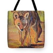 Coyote Hunting Tote Bag