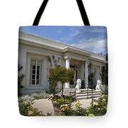The Huntington Library Rose Garden Tea House Tote Bag
