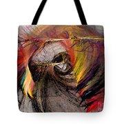 The Huntress-abstract Art Tote Bag