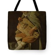 The Hurdy Gurdy Player Tote Bag