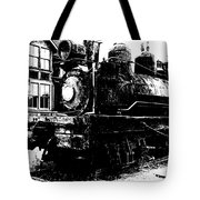 The Hurricane Express Homage 1932 19th Century Locomotive Ghost Town Nevada City Montana Tote Bag