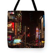 The Hustle And Bustle  Tote Bag