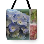 The Hydrangeas Of Late Spring Tote Bag